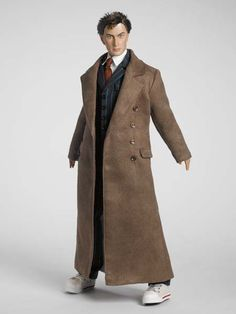 10th Doctor TIME LORD'S™ COAT from Doctor Who by Tonner Doll Company.  Huge wishlist item along with the doll:  http://pinterest.com/pin/467600373780318371/  #doctorwho #tonnerdoll