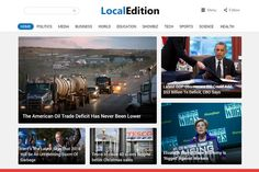 Check out LocalEdition - News Magazine Theme by Magazine3 on Creative Market