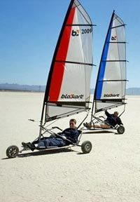 Land Sailing In the Desert is going to be Awesome!
