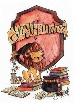 Gryffindor, the best house of Hogwarts Harry Potter World, Memes Do Harry Potter, Images Harry Potter, Arte Do Harry Potter, Harry Potter Drawings, Harry Potter Love, Harry Potter Universal, Harry Potter Journal, Harry Potter Cartoon