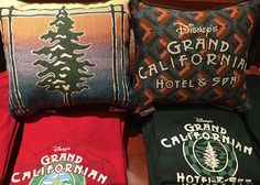 New merchandise available at Disney's Grand Californian Hotel