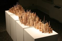 Incredible Wood-Carved Cityscapes by James McNabb - My Modern Metropolis