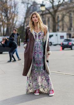 Pin for Later: Holt euch aus der Winterdepression mit den coolsten Street Style Looks aus aller Welt Street Style Januar / Februar 2016
