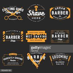 Vector Art : Barber Shop Emblems
