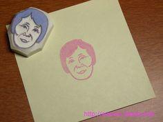 Stamp craft of J's gram-ma