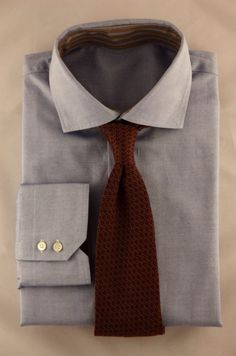 Timeless Quality Wine Color Handmade Silk Necktie (Distant View) #Mens #Fashion