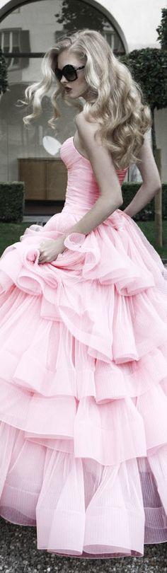 .Pretty Pink Dress