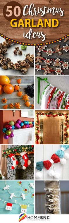 DIY Christmas Garland Decorations