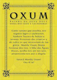 No sincretismo religioso brasileiro, apenas mudando o nome, Nossa Senhora da Conceição é Oxum . Rainha da água doce, das riquezas s...