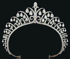 CARTIER: tiara art deco
