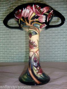 moorcroft art nouveau pottery ceramics clay