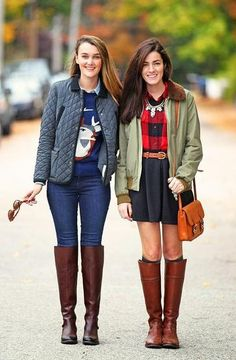 I'm going to wear this tomorrow <3  50 Fall Outfits To Copy | StyleCaster