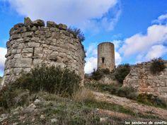Castillo de Saburella, cerca de Querol, Tarragona.