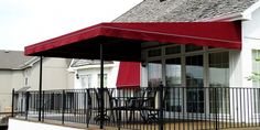 Entertaining in the rain – your patio awning might save your dinner party.