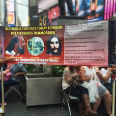 Messiah Foundation USA in Times Square