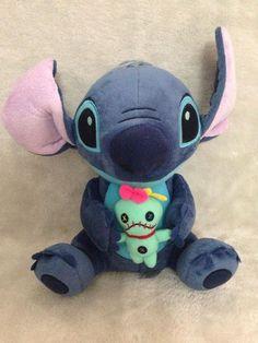 23cm Hot Sale Cute Cartoon Lilo and Stitch Plush Toy Soft Stuffed Animal Dolls Best Gift for Children Kids Toy