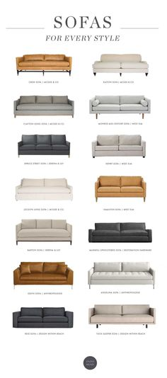 Sofas for Every Style
