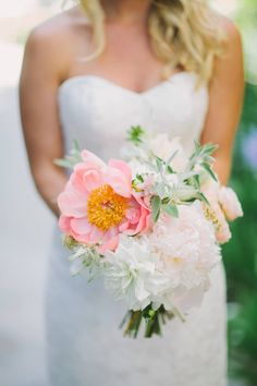 Boat Club Wedding with Pink and Popcorn | Let's Frolic Together | Bridal Musings Wedding Blog9