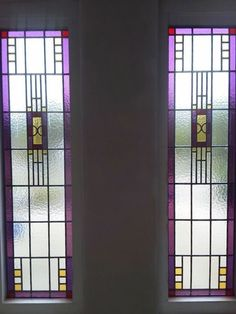 Stained glass panels in door Glass Photo, Stained Glass Panels, Colored Glass, Mosaics, Tiffany, Shabby, Windows, Doors, Lifestyle