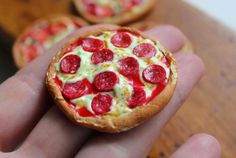 Miniature pepperoni pizza   Mini Pepperoni Pizza Recipe (New)    You will need:    The supplies you need to make a pepperoni pizza   Step ...