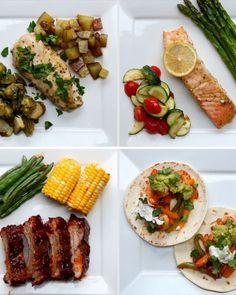 4 Simple One-Pan Dinners #TastyJunior