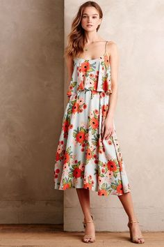 Poppy Field Dress - anthropologie.com