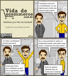 #ecommerce Sobrinho nas Redes Sociais