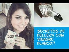 Secretos De Belleza Con Vinagre Blanco!!   Cuidar de tu belleza es facilisimo.com Soap, Make Up, Personal Care, Beauty, Natural, Youtube, Hair, Ideas, White Vinegar