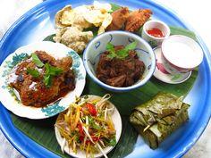 Asian tasting platter @Muntri Mews, Penang