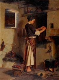 The candle maker by Apostolos Geralis