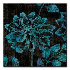 Tangletown Fine Art 'Boudoir I' Graphic Art Print on Wrapped Canvas Framed Art Prints, Canvas Prints, Scratchboard Art, Scratch Art, Arte Floral, Teaching Art, Art Lessons, Canvas Wall Art, Graphic Art
