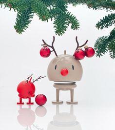 Die Rentiere von Hoptimist. Ein Designklassiker zu Weihnachten vom Designer Hans Gustav Ehrenreich.
