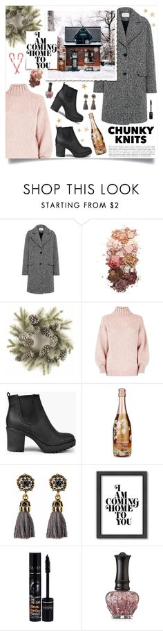 """""""Chunky"""" by linmari ❤ liked on Polyvore featuring Carven, Sigma, Boohoo, Perrier-JouÃ«t, Americanflat, Bourjois and Anna Sui"""