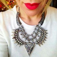 Just a zara necklace...