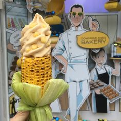 Corn Ice Cream on a Grilled Corn Cob Is Dominique Ansel's Newest Dessert | Food & Wine