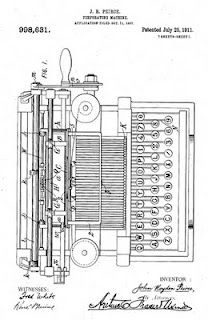 Punched card tabulation, IBM's first patent.