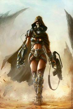 Character design - The Starbound Outlaw m-hugo Character Concept, Character Art, Concept Art, Character Design, Sci Fi Fantasy, Fantasy Girl, Cyberpunk, Dc Batgirl, Art Village