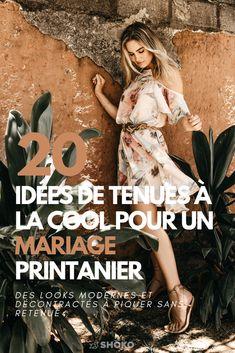 Les plus belles idées de tenues à la cool pour un mariage printanier repérées sur Instagram