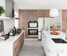 ideas kitchen ikea design cuisine for 2019 Kitchen Ikea, Walnut Kitchen, Ikea Kitchen Design, Home Decor Kitchen, Kitchen Flooring, Kitchen Furniture, New Kitchen, Kitchen Cabinets, Kitchen Modern