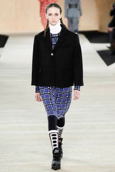 Most attempts at being sporty have failed, but this seems like a feasible outfit.  Marc by Marc Jacobs Fall 2014 RTW - Runway Photos - Fashion Week - Runway, Fashion Shows and Collections - Vogue