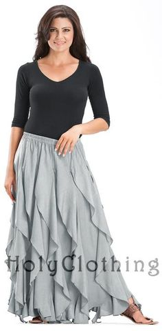 Shop Talia Gypsy Ruffle Asymmetrical Layered Flared Peasant Skirt in Silver Pewter: http://holyclothing.com/index.php/skirts/talia-gypsy-ruffle-asymmetrical-layered-flared-peasant-skirt.html. Repins are always appreciated :) #HolyClothing #fashion #Gypsy #Ruffle #Asymmetrical #Layered #Flared #Peasant #Skirt
