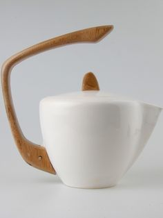 Teapot by Sebastian Rivett-Carnac.                                                                                                                                                      More