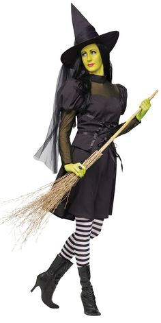 Miss Wicked Witch Adult Costume - Mr. Costumes