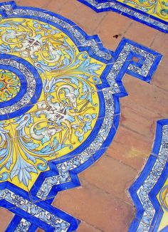 (Seville tiles again) Seville, Spain.  http://www.costatropicalevents.com/en/costa-tropical-events/andalusia/cities/seville.html