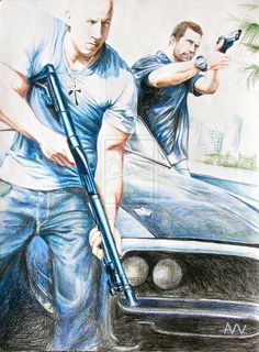 Fast Five! Great movie Fast Five Movie Fast And Furious, Fast & Furious 5, The Furious, Dominic Toretto, Fast Five, Retro Graphic Design, Movies And Series, Quirky Art, Ride Or Die
