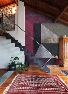 simple modern staircase