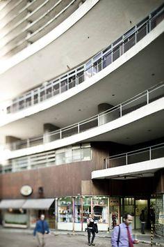 Oscar Niemeyer's Copan building, São Paulo