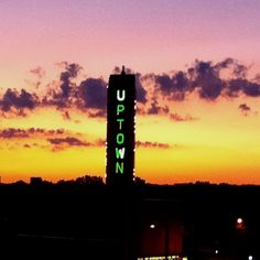 Uptown Theater sign, Minneapolis