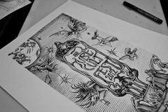 Tube Cult Fest ch. V coven illustration