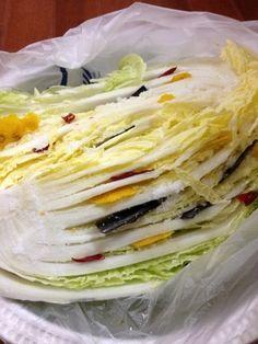 簡易☆白菜漬け物(仕込み編) by きょんこ@さん | レシピブログ - 料理 ...